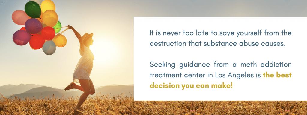 Meth Addiction Treatment Center Los Angeles California